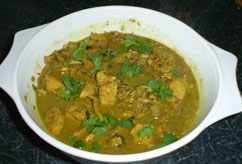 Pork Vindaloo in Marinade